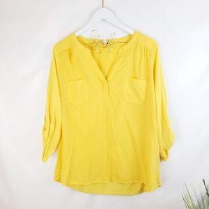 ♦️2/$20 Sonoma Dandelion Yellow Top XL